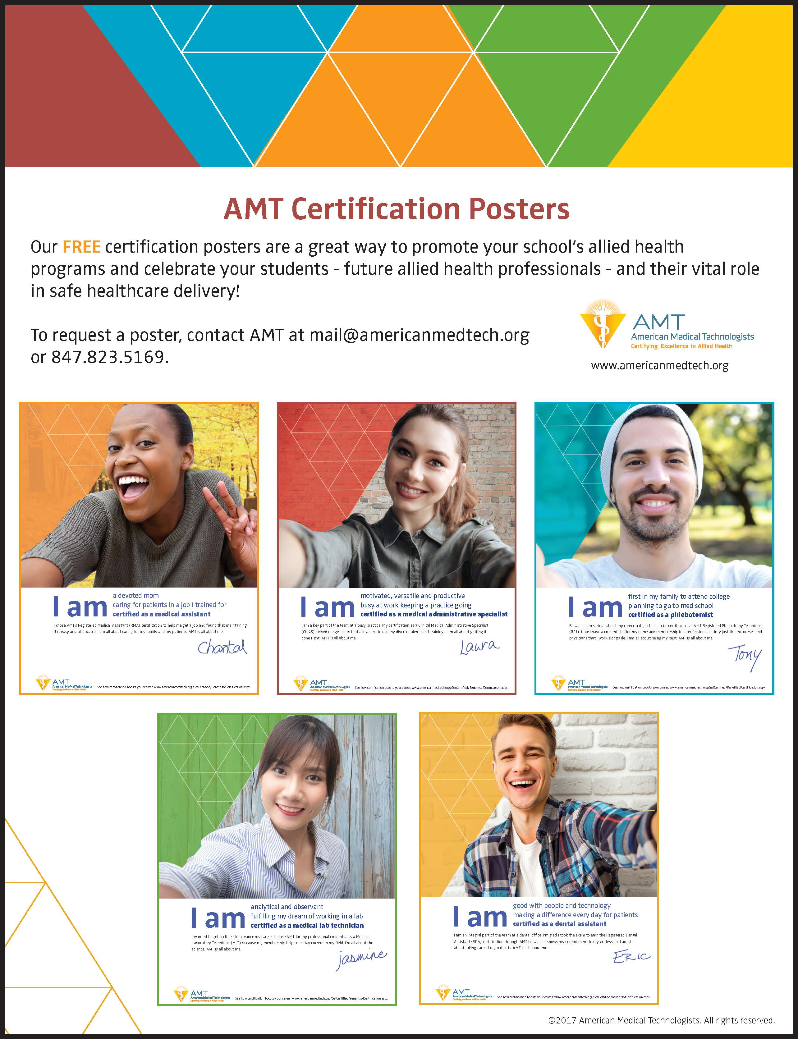 schools rh americanmedtech org AMT Certification Requirements AMT Medical Assistant with Certification