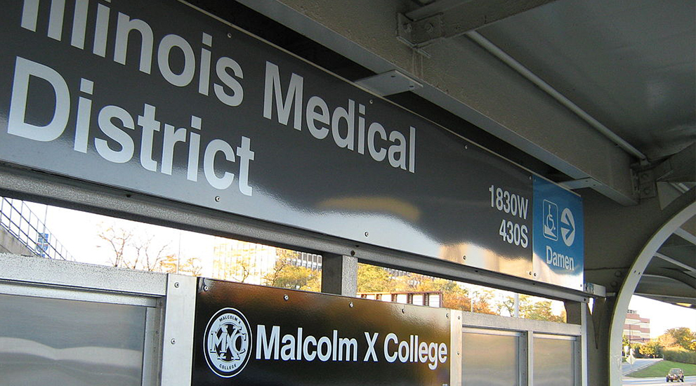 School in Lights: Malcolm X College